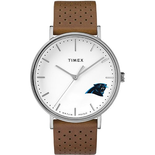 Timex Carolina Panthers Bright Whites Tribute Collection Watch