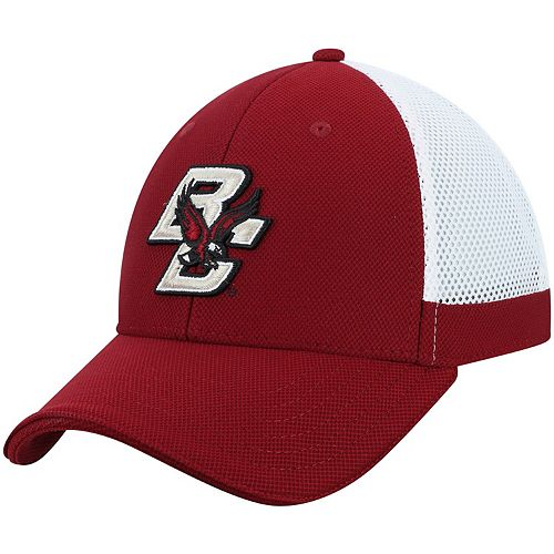 Men's Under Armour Maroon Boston College Eagles Team Logo Sideline Blitzing Accent Adjustable Hat