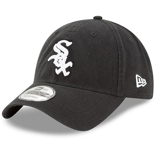 Youth New Era Black Chicago White Sox Core Classic Replica 9TWENTY Adjustable Hat