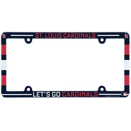 St. Louis Cardinals WinCraft Team License Plate Frame