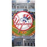 "WinCraft New York Yankees 30"" x 60"" Ballpark Spectra Beach Towel"