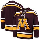 Minnesota Golden Gophers Replica Hockey Jersey  Maroon