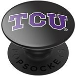 PopSockets TCU Horned Frogs Black Swappable PopGrip