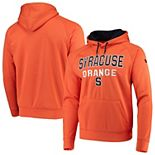 Men's Colosseum Orange Syracuse Orange Team Performance Pullover Hoodie