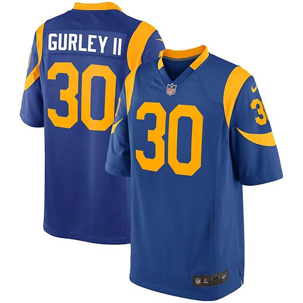 Youth Nike Todd Gurley II Royal Los Angeles Rams Alternate Game ...