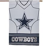 "Dallas Cowboys 29"" x 43"" Double-Sided Jersey Foil House Flag"
