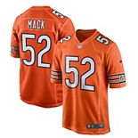 Youth Nike Khalil Mack Orange Chicago Bears Alternate Game Jersey