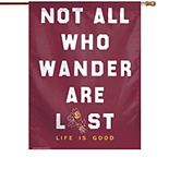 """WinCraft Arizona State Sun Devils 28"""" x 40"""" Life Is Good Single-Sided Vertical Banner"""