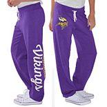 Women's G-III 4Her by Carl Banks Purple Minnesota Vikings Scrimmage Fleece Pants