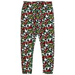 Girls Youth ZooZatz Green/Yellow Oregon Ducks Stacked Mascot Leggings