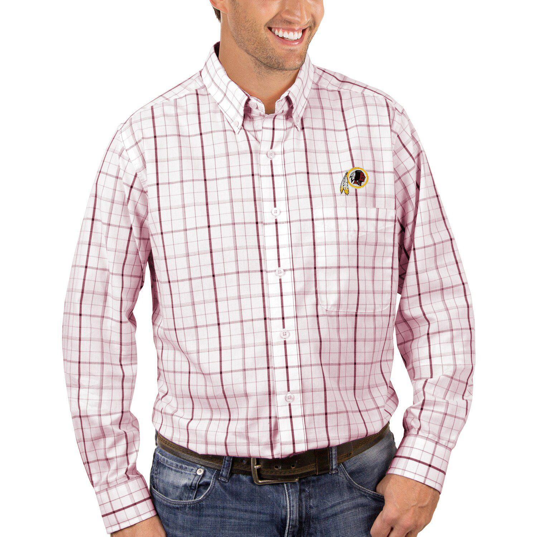 washington redskins dress shirt