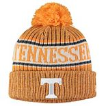 Youth New Era Tennessee Orange Tennessee Volunteers Sport Knit Hat with Pom