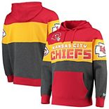 Men's G-III Sports by Carl Banks Red Kansas City Chiefs Extreme Special Team Pullover Hoodie