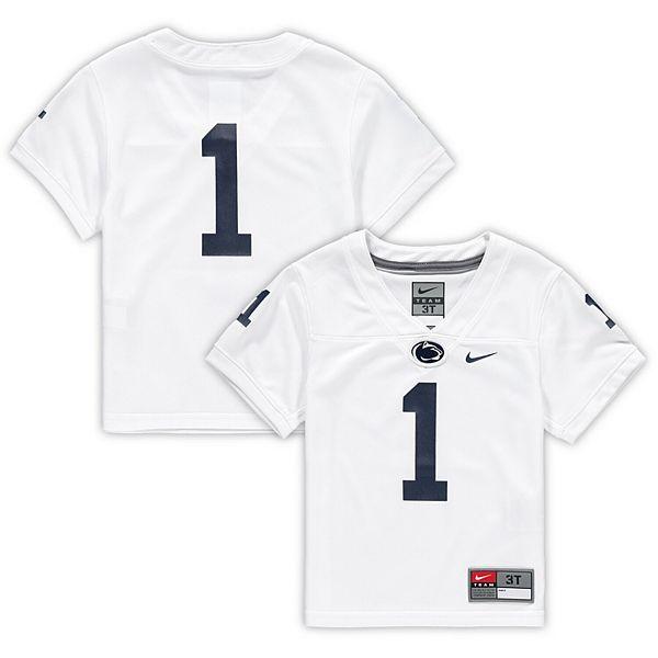 white penn state football jersey