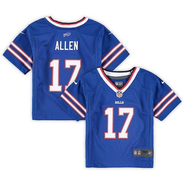Infant Nike Josh Allen Royal Buffalo Bills Game Jersey
