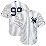 Men's Majestic Aaron Judge White New York Yankees Cool Base Player Replica Jersey