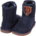 Women's Cuce Navy Chicago Bears The Rookie Mini Boots