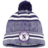 Men's New Era Purple Northwestern Wildcats Sideline Home Cuffed Knit Hat