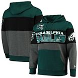 Men's G-III Sports by Carl Banks Midnight Green Philadelphia Eagles Extreme Special Team Pullover Hoodie
