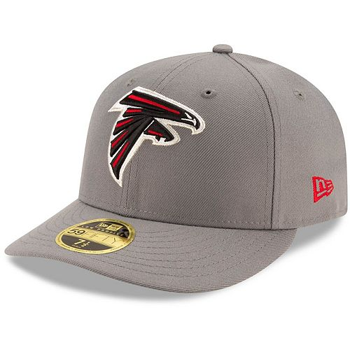 New Era 39Thirty Cap Sideline Graphite Atlanta Falcons