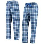 Women's Top of the World Royal/White Kentucky Wildcats Flannel Lounge Jogger Pants