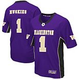 Men's Colosseum Purple Washington Huskies Max Power Football Jersey