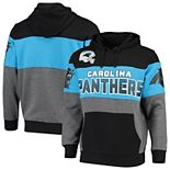 Men's G-III Sports by Carl Banks Black Carolina Panthers Extreme Special Team Pullover Hoodie
