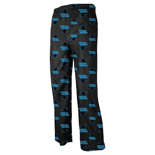 Carolina Panthers Youth All Over Print Lounge Pants - Panther Blue