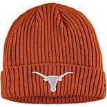 Men's New Era Texas Orange Texas Longhorns Core Classic Cuffed Knit Hat