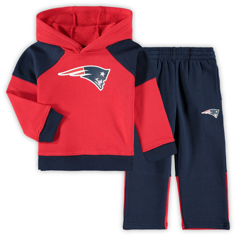patriots sweatshirt red