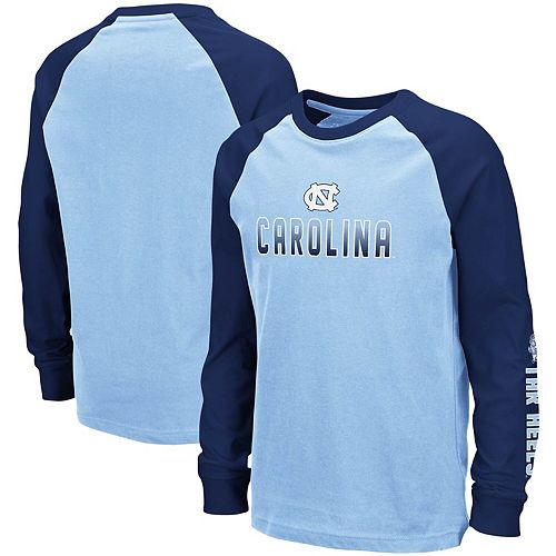 Colosseum North Carolina Tar Heels Charcoal Over The Fence Youth Shirt