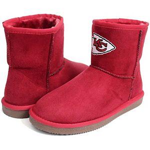 Girls Youth Cuce Kansas City Chiefs Rookie 2 Boots