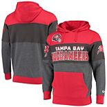 Men's G-III Sports by Carl Banks Red Tampa Bay Buccaneers Extreme Special Team Pullover Hoodie