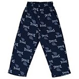 Preschool Navy Tennessee Titans All Over Printed Pajama Pants