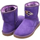 Women's Cuce Purple Baltimore Ravens The Rookie Mini Boots