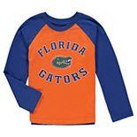 Preschool Orange Florida Gators Air Raid Raglan Long Sleeve T-Shirt