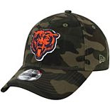 Youth New Era Camo Chicago Bears Core Classic Woodland Camo 9TWENTY Adjustable Hat