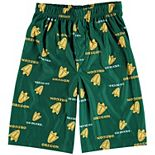 Oregon Ducks Youth Printed Pajama Shorts - Green