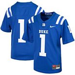 Youth Nike #1 Royal Duke Blue Devils Untouchable Football Jersey