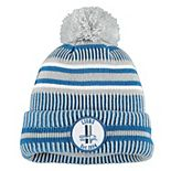 Youth New Era Silver Detroit Lions 2019 NFL Sideline Home Reverse Sport Knit Hat