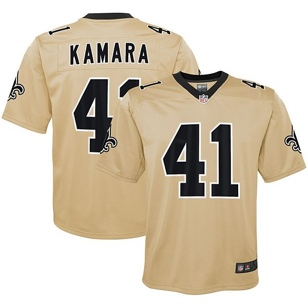 Youth Nike Alvin Kamara Gold New Orleans Saints Inverted Game Jersey