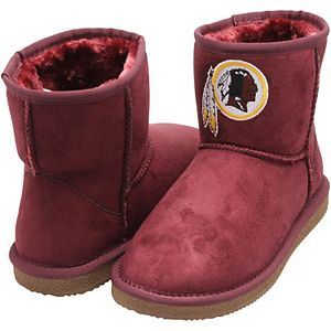 Women's Cuce Burgundy Washington Redskins The Rookie Mini Boots