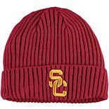 Men's New Era Cardinal USC Trojans Core Classic Cuffed Knit Hat