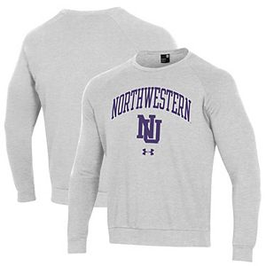 Under Armour NCAA Northwestern Wildcats Womens Short Sleeve Charged Cotton Tee X-Large Black
