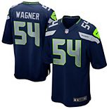 Mens Seattle Seahawks Bobby Wagner Nike College Navy Game Jersey