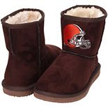 Women's Cuce Brown Cleveland Browns The Rookie Mini Boots