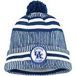 Men's New Era Royal Kentucky Wildcats Sideline Home Cuffed Knit Hat