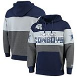 Men's G-III Sports by Carl Banks Navy Dallas Cowboys Extreme Special Team Pullover Hoodie