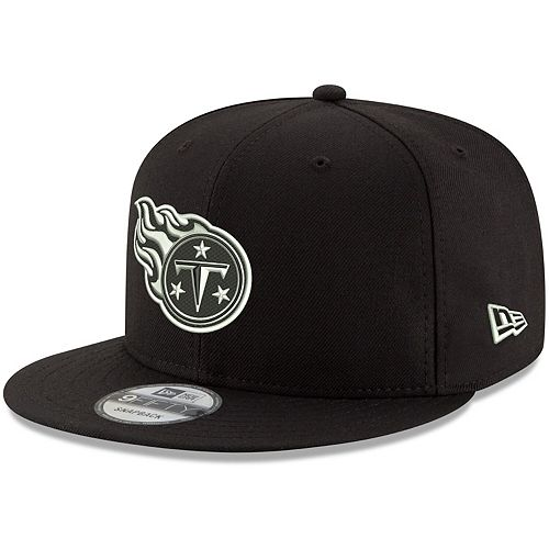 Men's New Era Black Tennessee Titans B-Dub 9FIFTY Adjustable Hat
