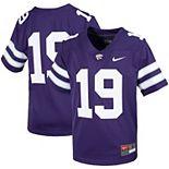 Youth Nike #19 Purple Kansas State Wildcats Untouchable Football Jersey
